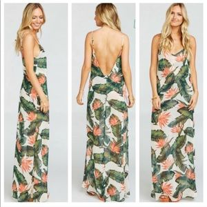Show me your mumu Jolie dress in paradise found L